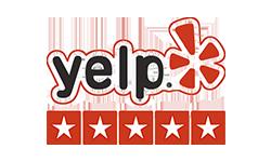 5 star Yelp logo