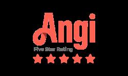 Angi 5-star review logo